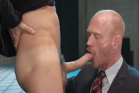nailed At Work By enormous homosexual penis Leather Skin By DoomGAY